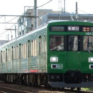 12/4 東急1000系緑の電車