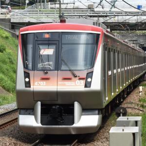 4/27  東急6000系試運転・8606F