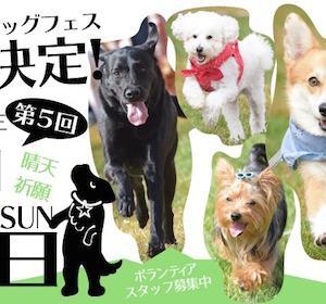 <予告> DOG FES IWAKI 2021 ドッグフェスイワキ 【イベント情報】 2021年10月17日(日)開催予定
