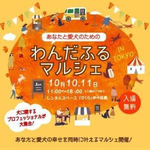 <予告> わんだふるマルシェ 【イベント情報】 2021年10月30日(土)・31日(日)開催
