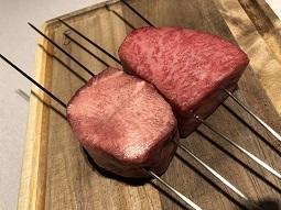 牛肉ブロックのビフォーアフター