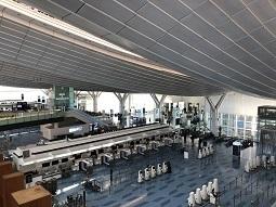 羽田空港第3旅客ターミナル(国際線)の今、、、そこには驚愕の光景が広がっていた