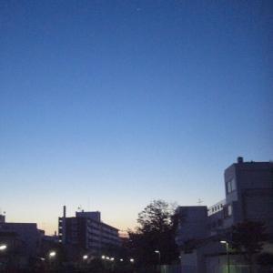 【早朝のお散歩】 2020/9/22  明るい朝に