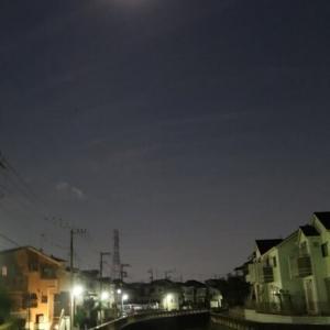 【早朝のお散歩】 2021/9/24 満月の名残でも輝いて