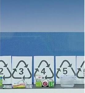 プラスチック容器裏に書いてある数字