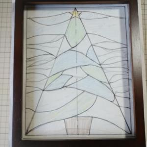 クリスマスツリー図案できました♪
