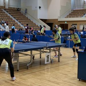 第16回花巻ダブルスカップ争奪卓球大会