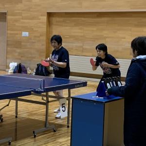 第42回岩手県レディース卓球交流会