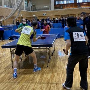 第118回盛岡市中高年ミックスダブルス卓球大会