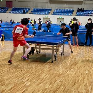 第73回盛岡市民体育大会卓球競技(一般の部)
