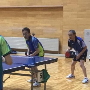 2019年新春初打ち卓球大会