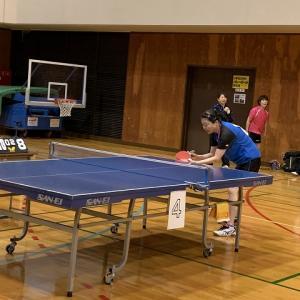 第一三共ヘルスケア・レディース2019第30回東北ブロックレディース卓球大会岩手県予選会