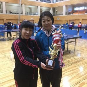 第9回盛岡市中高年男女別ダブルス卓球大会