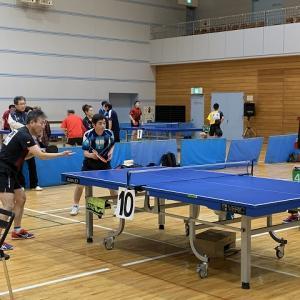 第21回滝沢オープン卓球大会
