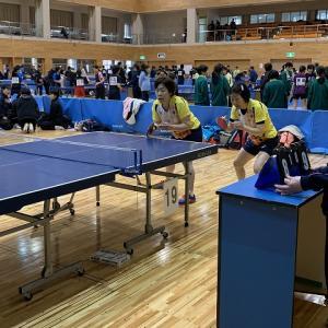 第22回盛岡市クラブ対抗ダブルス卓球大会
