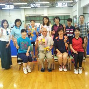 東北福祉大学卓球部、柴田先生の退官式に行ってきました