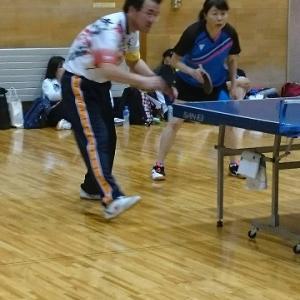 第14回盛岡市中高年クラブ対抗ミックスダブルス団体戦卓球大会