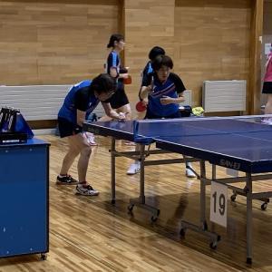 第23回盛岡市クラブ対抗ダブルス卓球大会