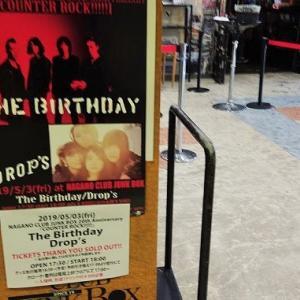 The Birthday×Drop'sの感想やセトリ等【長野CLUB JUNK BOX 20th Anniversary「COUNTER ROCK!!!!!」】