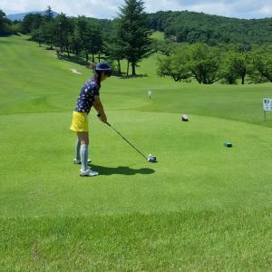 今年のお盆、福島でのゴルフ
