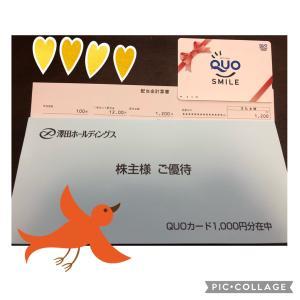 QUOカード(株主優待)