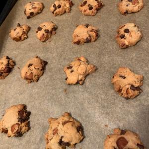 生姜たっぷりでいいの?チョコチップクッキー  ケロン村の玄米粉② & ドラマ「シカゴ・メッド」