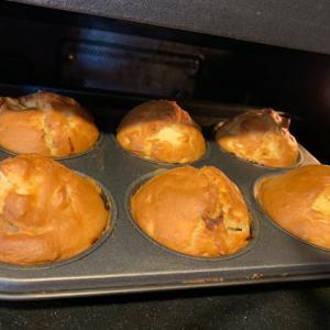 簡単レシピ りんごとベーコンのお食事マフィン &ちきゅうをまもる