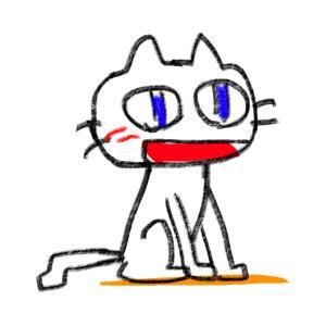 アニメーションを3つ 「正座でペコリ猫」「ラグビー・パスワン」「困ったワン」