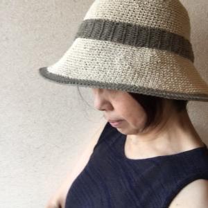 シルクの夏の帽子