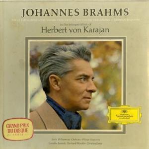 [レア盤][名演奏]カラヤン/ブラームス「交響曲全曲」「ヴァイオリン協奏曲」「ドイツ・レクイエム」「ハイドン変奏曲」(独DGG SKL133/139)