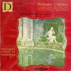 [ノイズ軽微][名演奏]アルベルト・フェルバー/ドビュッシー 7つの前奏曲(仏DUCRETET 255 C/088 )