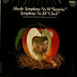 [名演奏]モントゥー&ウィーンフィル/ハイドン 交響曲「驚愕」「時計」(英LONDON STS15178)