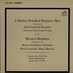 [ニアミント盤]ラインスドルフ&ボストン響/モーツァルト レクイエム(米RCA LSC7030)