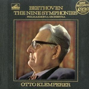 [名演奏][優秀録音]クレンペラー/ベートーヴェン:交響曲全集(英EMI SLS788/9)