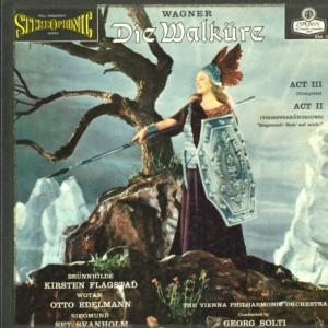 [貴重盤]ショルティ&ウィーンフィル/ワーグナー「ワルキューレ」第参幕全曲・第二幕から(英LONDON OSA1203)