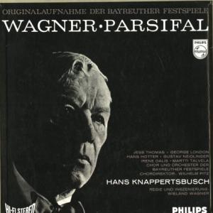 [歴史的名盤]クナッパーツブッシュ&バイロイト祝祭管弦楽団/ワーグナー 舞台神聖祝典劇 『パルジファル』全曲(日 PHILIPS SFX7793-7)