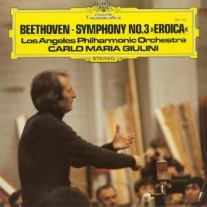 [名演奏][優秀録音]ジュリーニ/ベートーヴェン 交響曲3番「英雄」(独DGG 2531 123)