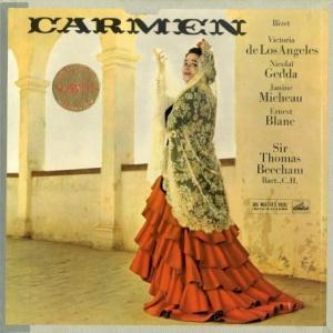 [名盤][ニアミント]ロス・アンヘレス&ビーチャム/ビゼ「カルメン(全曲)」(英EMI ASD331-333(SLS755) )