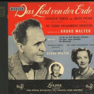 [名唱]フェリアー、ワルター&ウィーンフィル マーラー 「交響曲 大地の歌」「リュッケルトの詩による3つの歌曲」(英LONDON LL625/6)