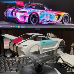 Mini-Z Racer・第3期~Re:RWDから始めるRC生活⑪~AMG GT3ボディ編.6
