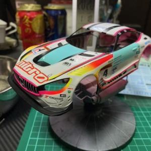 Mini-Z Racer・第3期~Re:RWDから始めるRC生活⑭~AMG GT3ボディ編.9