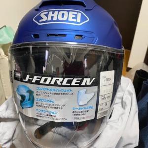 ジェットヘルメット買い替え!『SHOEI J-FORCEⅣ』(゚д゚)