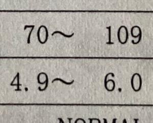 血糖値とHbA1cに注目
