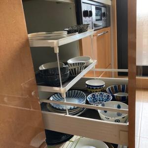 食器棚の整理、食器の好みの傾向