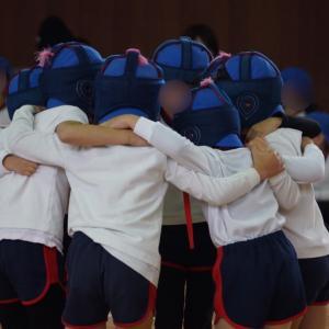 【三男】幼稚園最後の体育参観