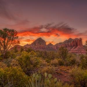 Sedona Sunset Time-lapse パワースポット・セドナの夕焼け