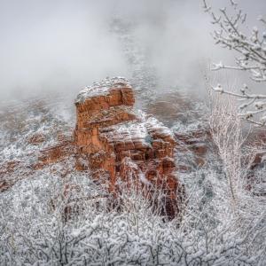 セドナ・大雪!!美しいセドナの雪景色をお届けします