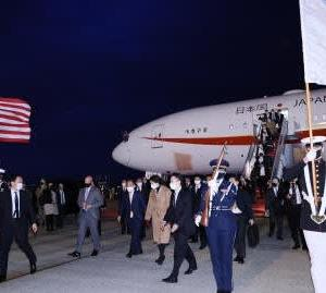 首脳会談でアメリカに行きました