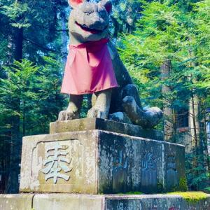 秋分の日は、関東屈指のパワースポット三峯神社へ!
