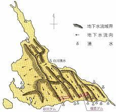 南の島の景色 世界初地下ダム